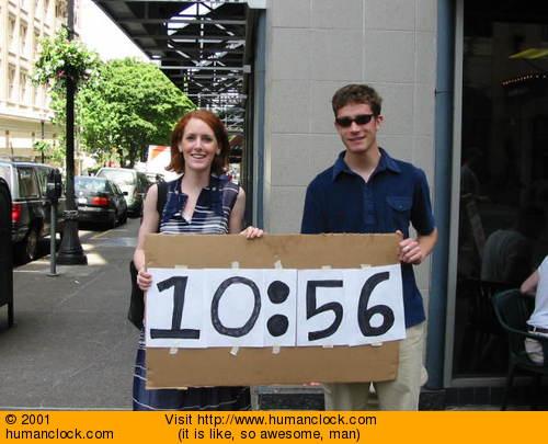 Visit Human Clock